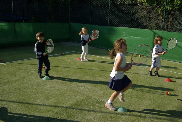 Kids Tennis at Jim Stewart's